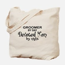 Groomer Devoted Mom Tote Bag