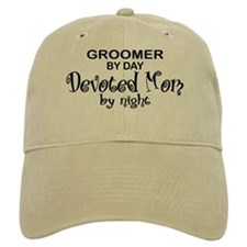 Groomer Devoted Mom Baseball Cap