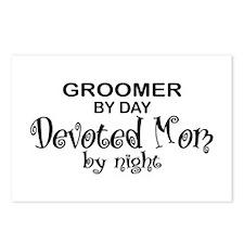 Groomer Devoted Mom Postcards (Package of 8)