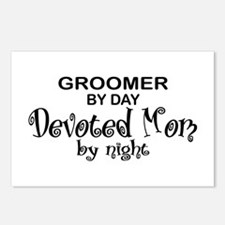 Groomer Devoted Mom Postcards (Package of 8)