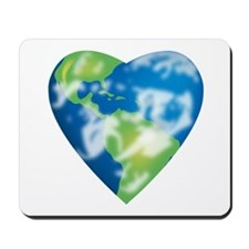Earth Heart Mousepad