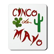 Cinco de Mayo Cacti Mousepad