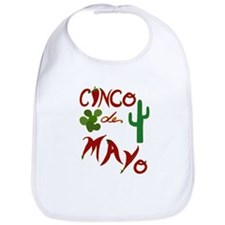 Cinco de Mayo Cacti Bib
