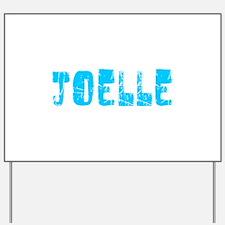 Joelle Faded (Blue) Yard Sign