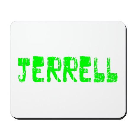 Jerrell Faded (Green) Mousepad