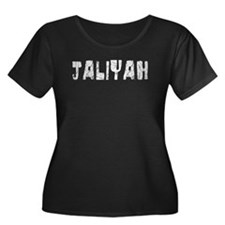 Jaliyah Faded (Silver) T
