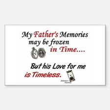 Timeless 1 Alzheimer's (Father) Decal