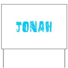 Jonah Faded (Blue) Yard Sign