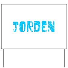 Jorden Faded (Blue) Yard Sign
