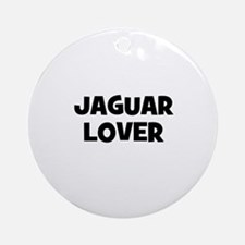 Jaguar lover Ornament (Round)
