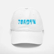 Jordyn Faded (Blue) Baseball Baseball Cap
