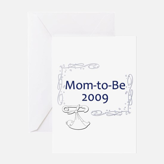 Mom-to-Be 2009 Greeting Card