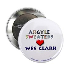 "Argyles Sweaters 4 Clark 2.25"" Button (10 pack)"