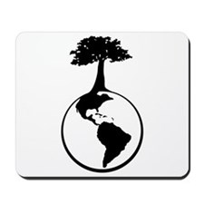 Earth Tree Mousepad
