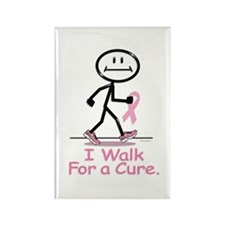 Breast Cancer Walk Rectangle Magnet (10 pack)