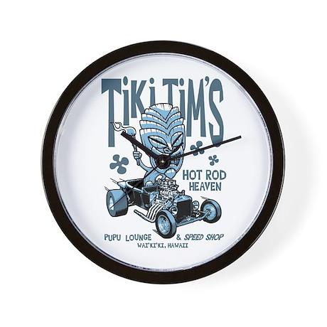 Tiki Tim's Wall Clock