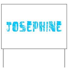 Josephine Faded (Blue) Yard Sign