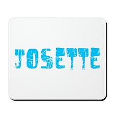 Josette Faded (Blue) Mousepad