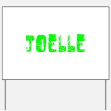 Joelle Faded (Green) Yard Sign