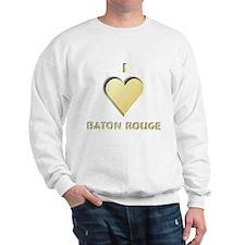 I Love Baton Rouge #9 Sweatshirt
