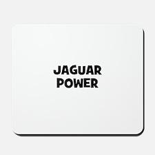 Jaguar power Mousepad