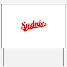 Retro Sydnie (Red) Yard Sign