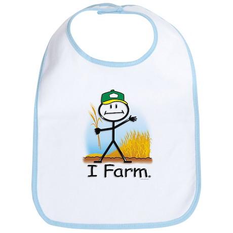 Wheat Farmer Bib