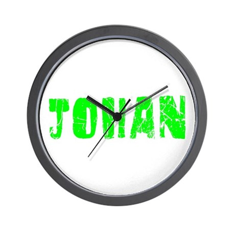 Johan Faded (Green) Wall Clock