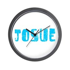 Josue Faded (Blue) Wall Clock