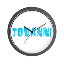 Jovanni Faded (Blue) Wall Clock