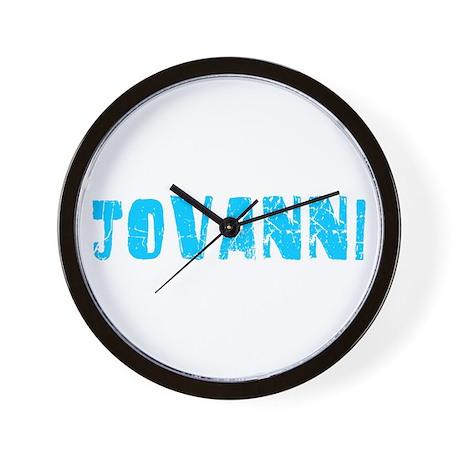 Jovanni Faded (Blue) Wall Clock