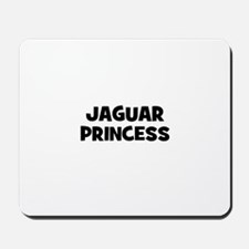 Jaguar princess Mousepad