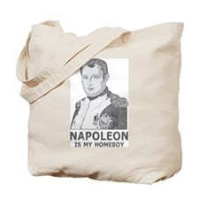 Napoleon Is My Homeboy Tote Bag