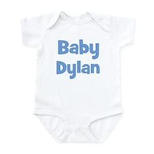 Baby Dylan (blue) Infant Bodysuit
