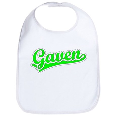 Retro Gaven (Green) Bib