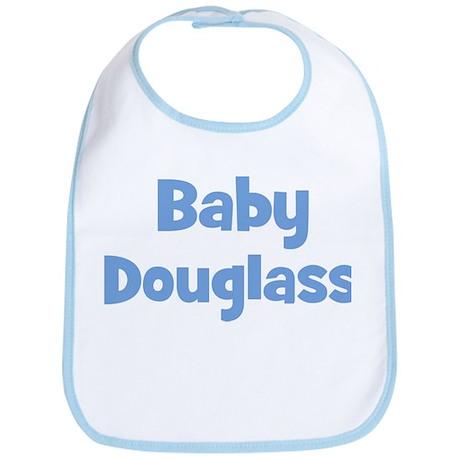 Baby Douglass (blue) Bib