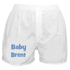 Baby Brent (blue) Boxer Shorts
