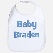 Baby Braden (blue) Bib