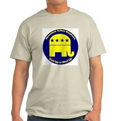 OYE - Sign Up or Shut Up Ash Grey T-Shirt