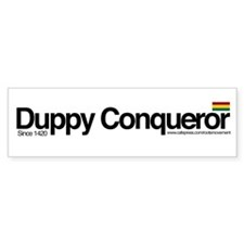 The Duppy Bumper Sticker