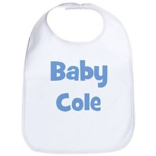 Baby Cole (blue) Bib