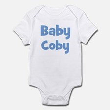 Baby Coby (blue) Infant Bodysuit