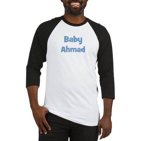Baby Ahmad (blue) Baseball Jersey