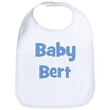 Baby Bert (blue) Bib