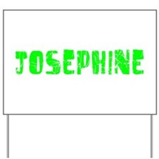 Josephine Faded (Green) Yard Sign