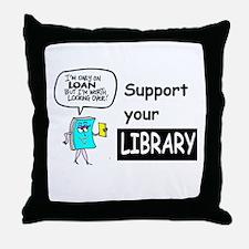 Librarians Choice Throw Pillow
