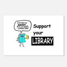 Librarians Choice Postcards (Package of 8)