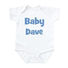 Baby Dave (blue) Infant Bodysuit