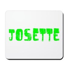 Josette Faded (Green) Mousepad