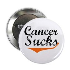 "Cancer Sucks (Leukemia) 2.25"" Button"